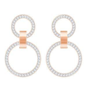 Swarovski Crystal Rose Gold Plating Earrings